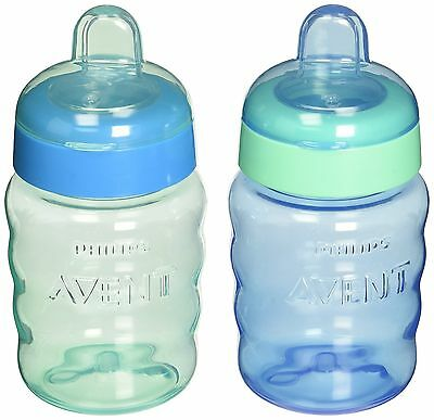 Philips Avent My Easy Sippy Cup 9 Ounce Blue/Green Stage 2 colors may vary NEW