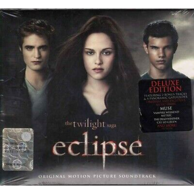 AA.VV. CD The Twilight Saga Eclipse Deluxe Ed OST Soundtrack 0075678924507