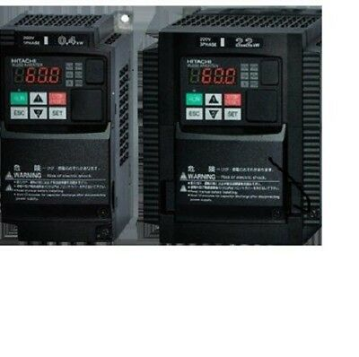 Hitachi WJ200-022SF 3HP 1-phase In 3-phase Out 200-240volt  also Phase Converter