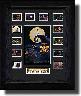 The Nightmare Before Christmas film cell  (1993) (a)