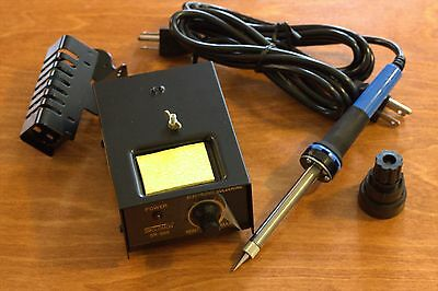 Solomon Adjustable Electronic Soldering Station SR-998    **SHIPS FROM THE USA*