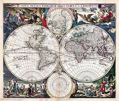 Collection of 80 Old Rare Antique World Maps in High Resolution (300dpi) on DVD