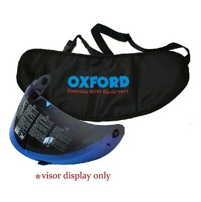 OXFORD Helmet Visor Carry Bag StowAway Helmet Visor Transporter Black