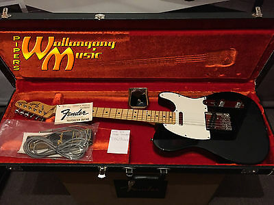 Genuine 1978 USA Telecaster - Black | Maple Fingerboard | NEW - Never been sold!