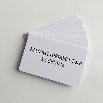 35Pcs 13.56MHz Contactless RFID Proximity Smart ID Card by Inkjet Printer