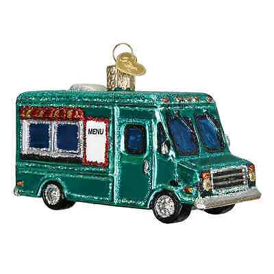 """Food Truck"" (46060) Old World Christmas Ornament"