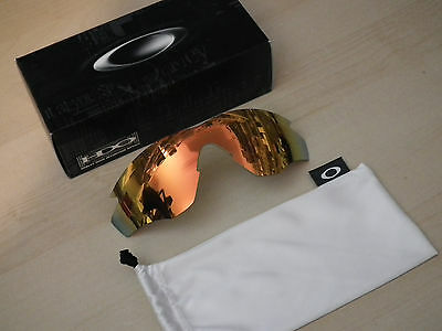 Oakley M2 Fire Iridium Lens 100-720-004 *original Authentic*