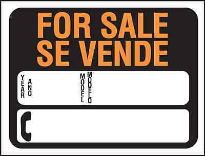"""Sign,15X19 """"for Sale"""""""