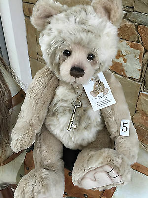 Charlie Bears Charlie Year Bear 2016 Plumo Jointed Plush 48 cm masterpiece Teddy
