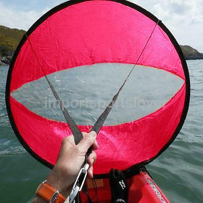"""Collapsable Foldable Sit on Top Kayak canoe Sail Wind Paddle Downwind 42"""""""