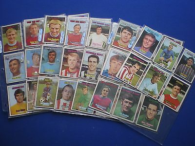 A&BC - Footballers 1970/71 - Bubblegum Cards * Choose The One's You Need *