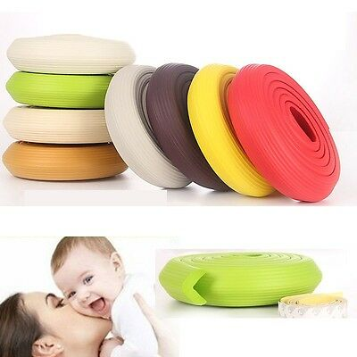 Baby kids Safety Protector Table desk Corners Edge Cushion Guard Bumper Strip
