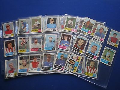 A&BC - Footballers 1969/70 - Bubblegum Cards * Choose The One's You Need *