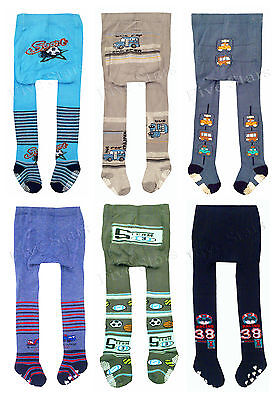New Baby Toddler Infant Boy Cotton Tights Anti Slip Leg Warmers 0-12-24 months