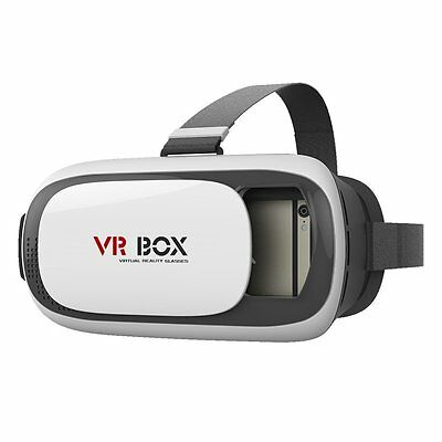 "VISORE 3D VR BOX REALTA' VIRTUALE VIDEO FILM GIOCO PER SMARTPHONE 3,5 6,0"" mshop"