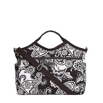 MIDNIGHT PAISLEY Vera Bradley Carryall Travel Overnight Bag New With Tags