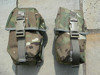 British Army MTP Water Bottle & Utility Pouch Combo Molle Osprey Used