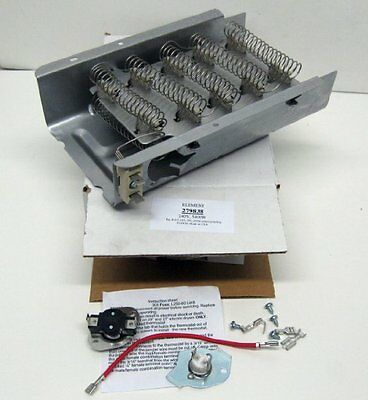 Heater Parts Whirlpool Kenmore Dryer Heating Element Electric Washer Thermostat