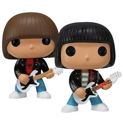 Ramones Collectibles 2011 Funko Pop Rocks! Johnny & Dee Dee Ramone Vinyl Figures