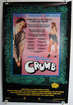 CRUMB (1994) Original Movie Poster 27x40 inches - MINT condition