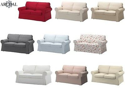 """IKEA EKTORP Cover Two Seat Sofa , in Various Colours, """"Sofa Not Included"""""""