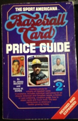 1980 The Sport Americana Baseball Card Price Guide Issue #2 - by Beckett & Eckes