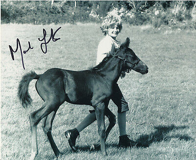 Mark Lester In Person Signed Photo - A57 - Black Beauty