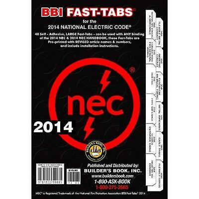 FREE 2 DAY SHIPPING: 2014 National Electrical Code NEC Fast-Tabs For Softcover,