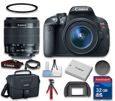 Canon EOS T5i Digital SLR Camera with Canon EF-S 18-55mm f/3.5-5.6 IS STM Lens