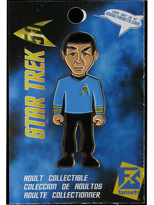 Star Trek Mr. Spock Licensed FanSets MicroCrew Collector's Pin