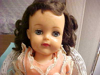 "IDEAL POSIE DOLL 17"" VP17 doll from original owner's collection (1954-56) update"