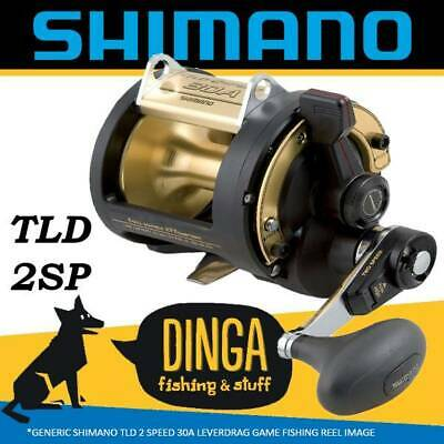 Shimano TLD 30A Lever Drag Game Fishing Reel 2 Speed