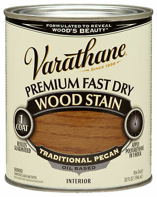 Varathane 262013 1 Qt. Traditional Pecan Fast Dry Wood Stain,No 262013