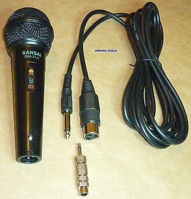 Dynamic Microphone - Karaoke Stage Microphone - New