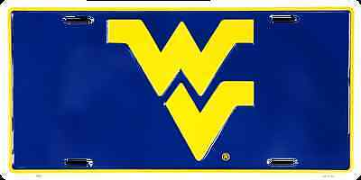 West Virginia Car Truck Tag License Plate Wv Mountaineers Metal Sign Man Cave