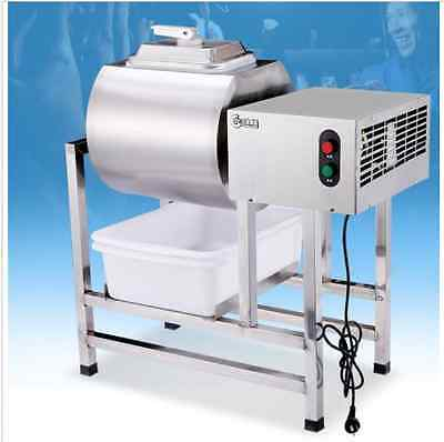 Stainless Steel Meat Salting Machine/Meat Poultry Tumbler Machine 25L 220V