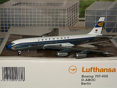 Herpa Wings 200 Lufthansa B707 -400 D-ABOC 557818 1/200 **Free S&H** 0716