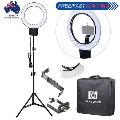 40W Ring Lamp Light + Diffuser + Camera Phone Holder Bracket + 90cm Stand + Bag