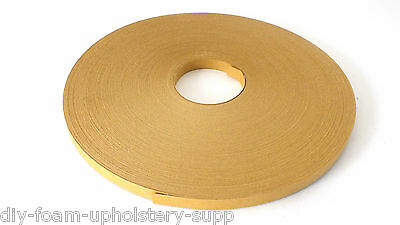 Fibre Back Tack Tape Strip card roll upholstery tacking strip 13mm wide