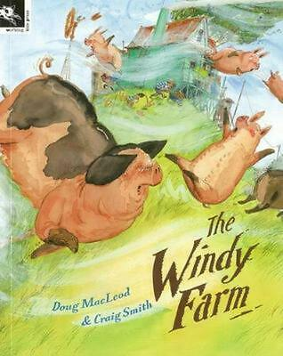The Windy Farm by Doug MacLeod Paperback Book Free Shipping!