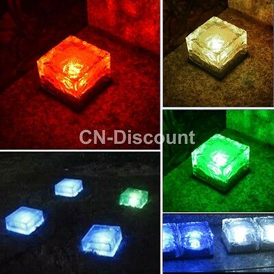Home Garden Yard Solar Light LED Lamp Lawn Party Path Outdoor Ground Lighting