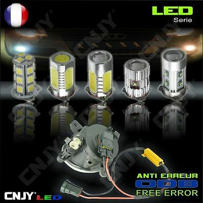Kit 2 Ampoule Led Phare Anti Brouillard Feux De Jour Honda Accord 1.6 2.2 2.4
