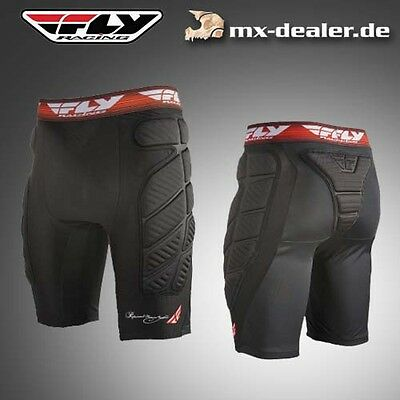 FLY Racing Short Compression Protektoren Hose Enduro MTB MX Motocross S M L XL