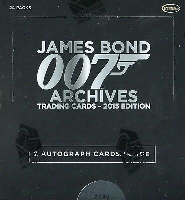 James Bond Archives 2015 Edition Card Box