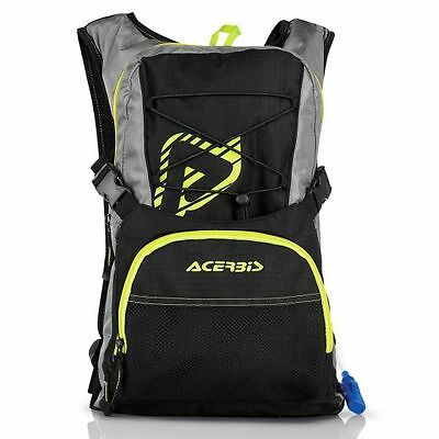Zaino Cross Acerbis H2O Drink Bag Nero/giallo Black/yellow