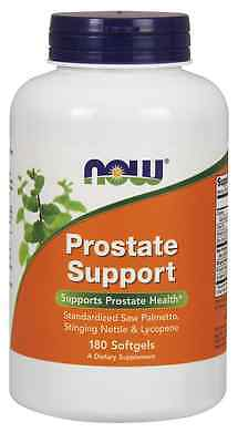 New - NOW Foods Prostate Support 180 Softgels