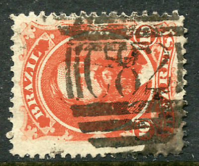 "BRAZIL: (1181) GB used abroad ""C82"" postmark/cancel"