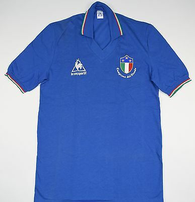 1983-1984 Italy Le Coq Sportif Home Football Shirt (Size M)