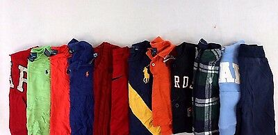 Polo Ralph Lauren Lot of 12 Baby Boys/Toddlers Tops/Sweatshirts 12-24M/2T V10125