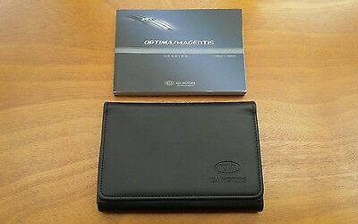 Kia Magentis / Optima Owners Manual / Handbook + Wallet - (2005 - 2009)